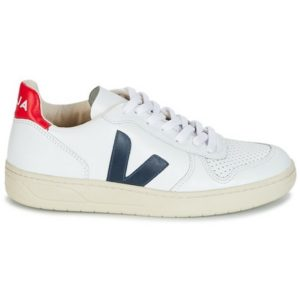 VEJA – V10 Leather White / Red