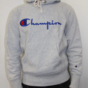 CHAMPION – Hooded Sweatshirt Grey