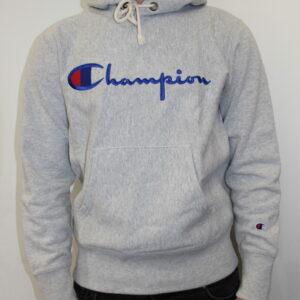 CHAMPION – Hooded Sweatshirt Grey
