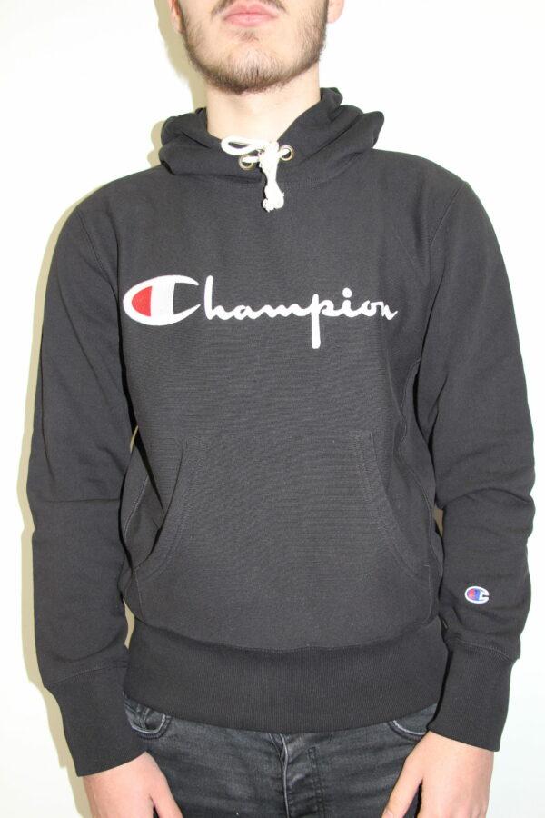 CHAMPION hooded sweatshirt noir