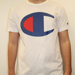 CHAMPION – Large Logo C White