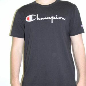 CHAMPION – Script Tee-shirt Noir