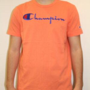CHAMPION – Script Tee-shirt Orange