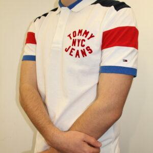 TOMMY HILFIGER – Essential Badge Blanc