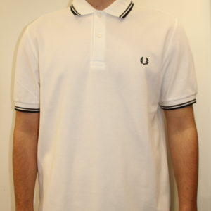 FRED PERRY – Twin Tipped White