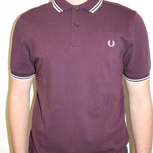 FRED PERRY – Twin Tipped Bordeaux