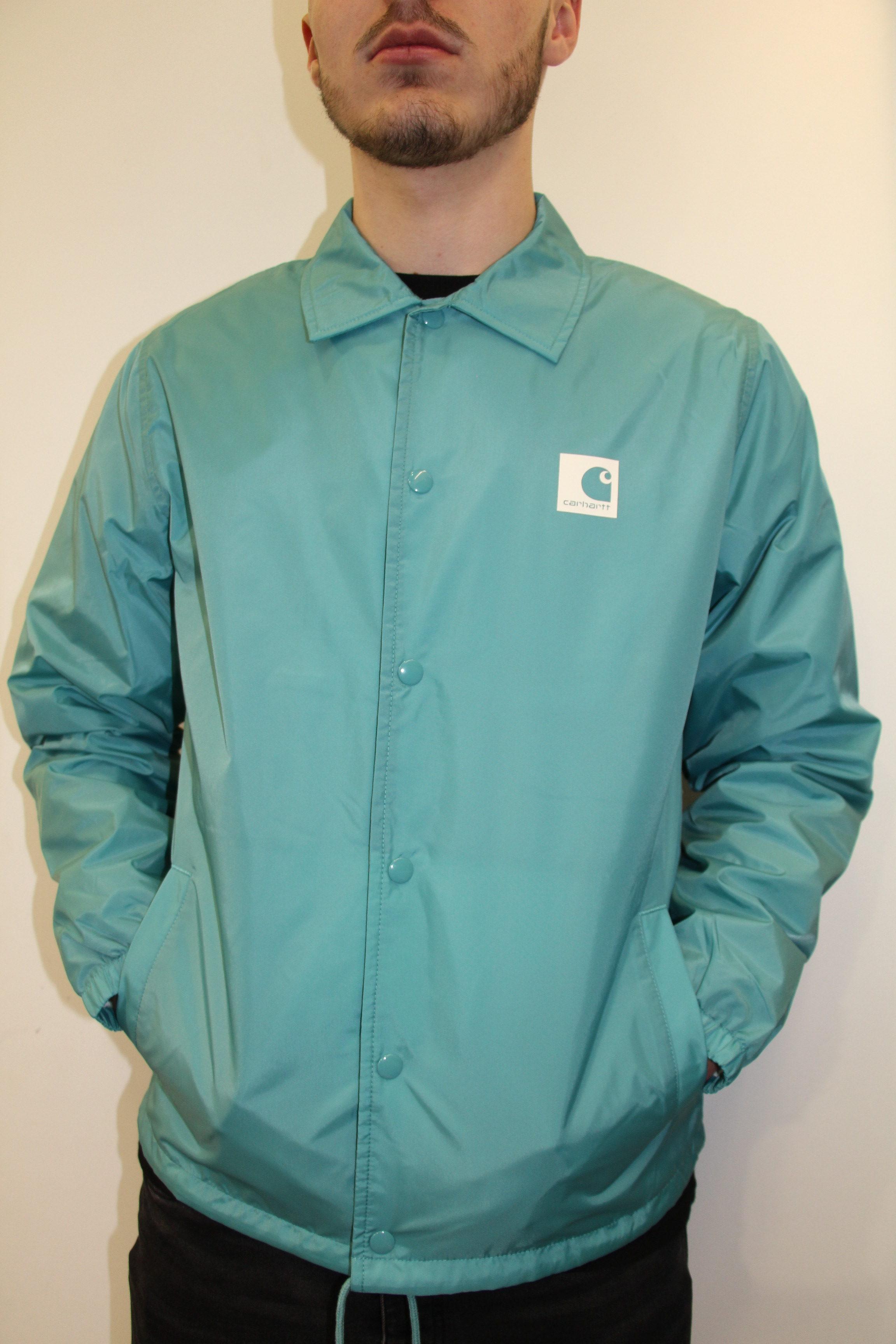 magasin en ligne 40241 c9a2c CARHARTT Wip - Veste Turquoise