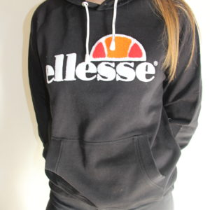 ELLESSE – Sweat Brodé Noir