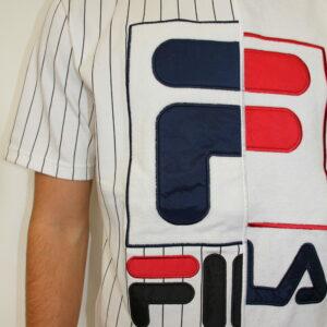 FILA – Tee Shirt Aiden Blanc