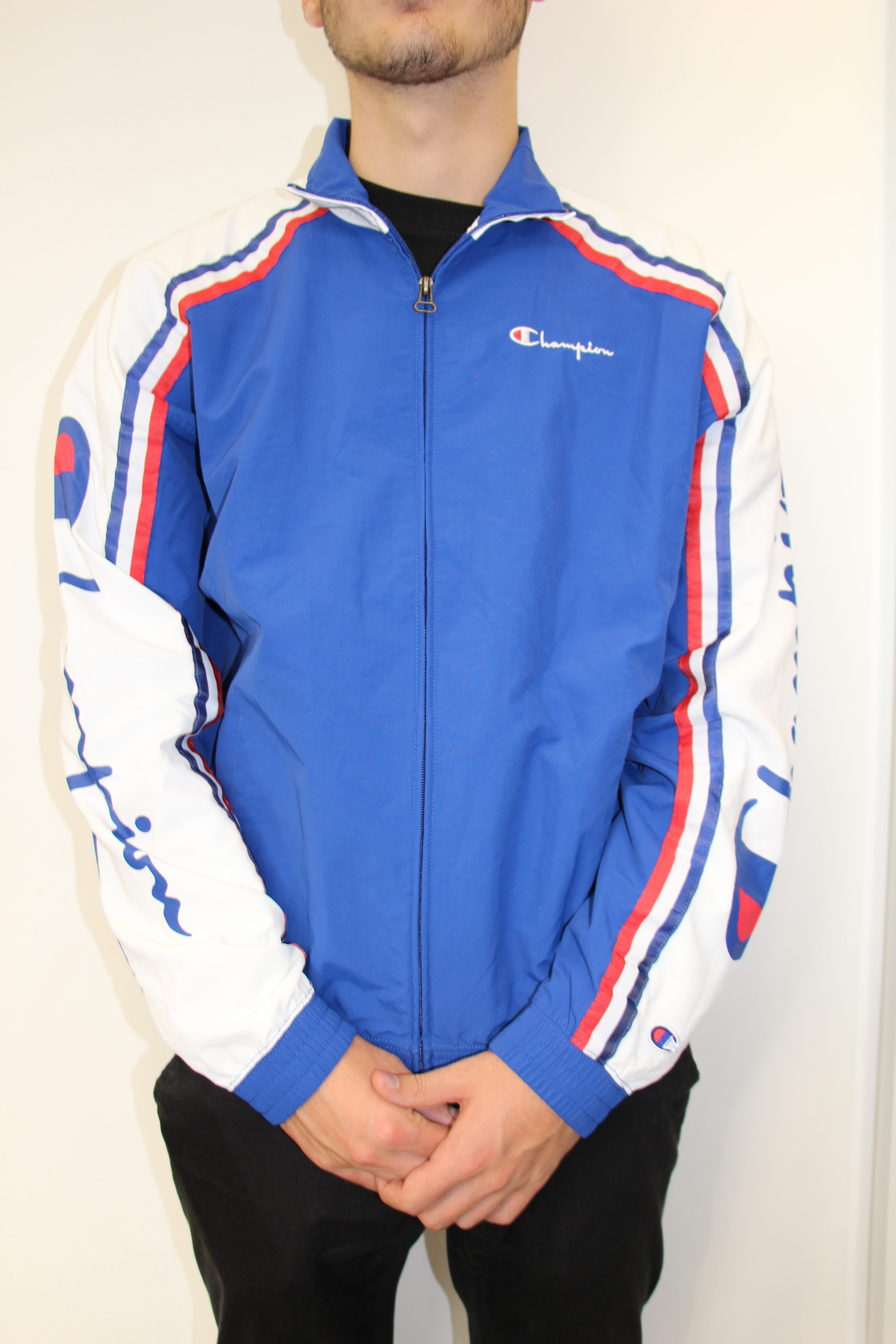 disponible plus près de dernière conception CHAMPION - Veste Vintage Bleu