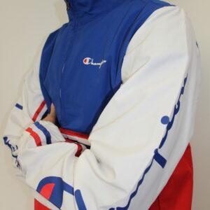 CHAMPION – Veste Vintage Bleu