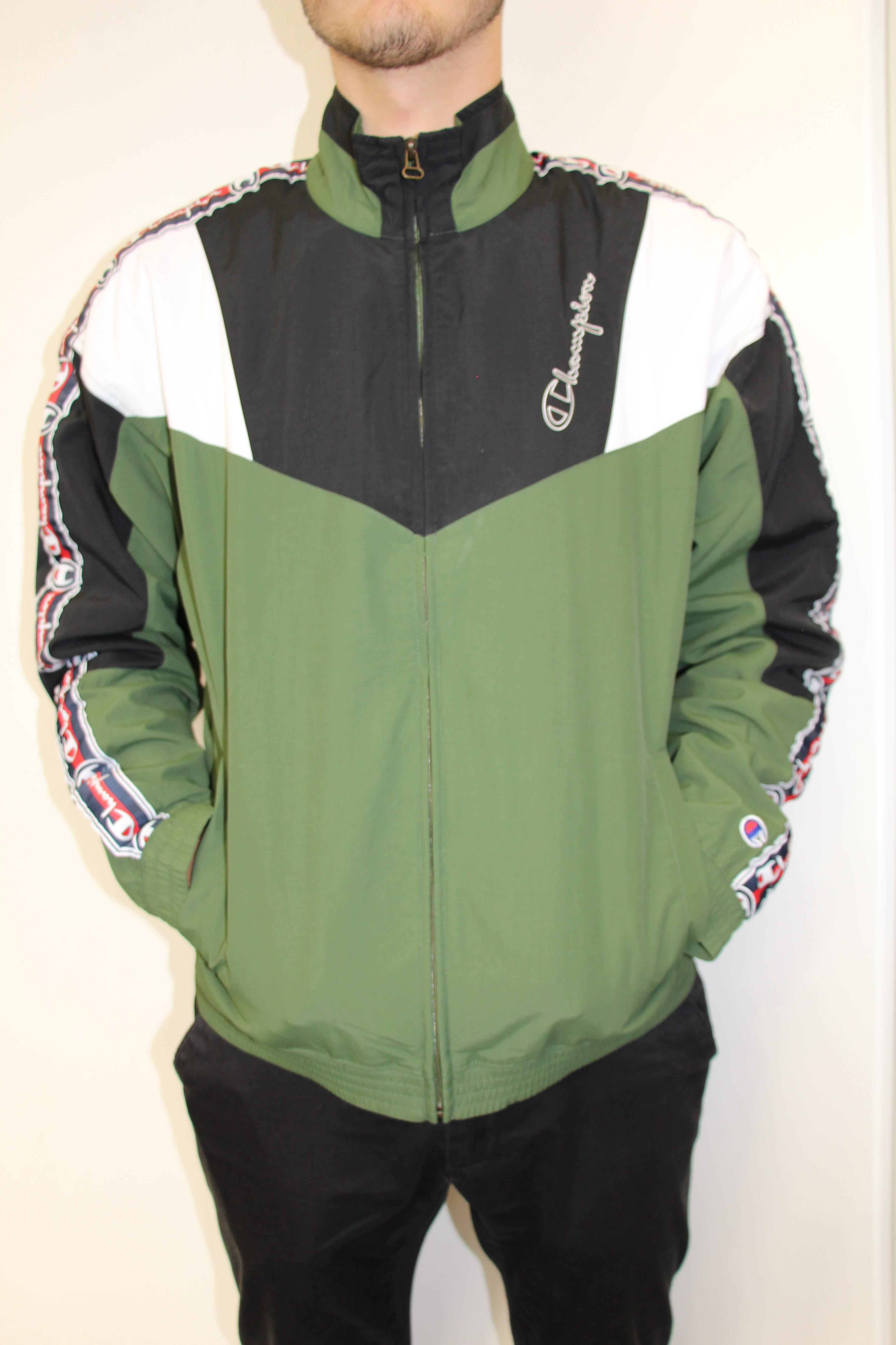 conception populaire style le plus récent dernière vente CHAMPION - Veste Vintage Vert