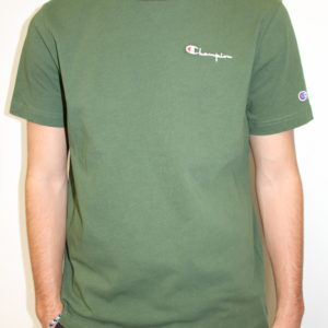 CHAMPION – Tshirt à Petit Logo Kaki