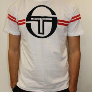 TACCHINI – Tshirt Avec Bandes Blanc