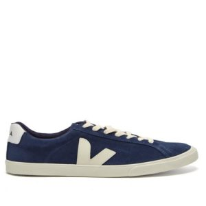 VEJA – Chaussure Esplar Low Logo Suede Midnight