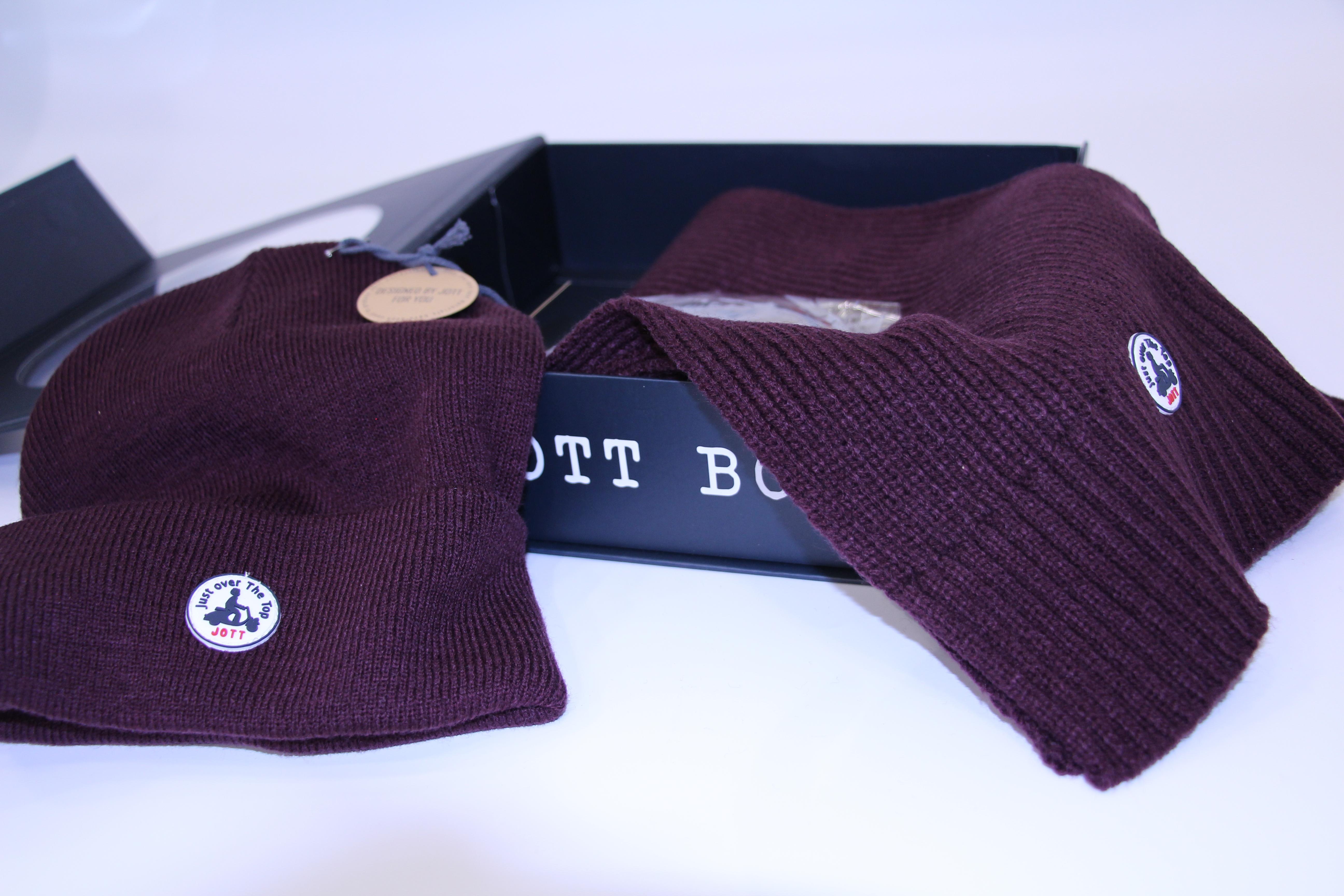 bonne vente de chaussures grand choix de 2019 meilleur site web JOTT - Box Bonnet et Echarpe Bordeaux