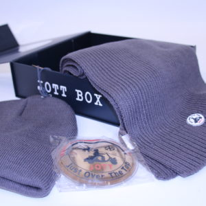JOTT –  Box Bonnet Écharpe Anthracite