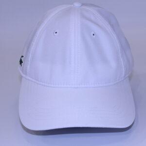 LACOSTE Casquette sport blanc diamantée