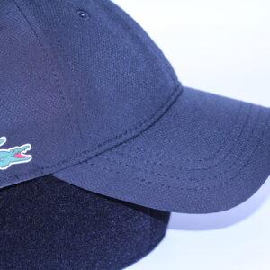 LACOSTE – Casquette Logo Côté Noir