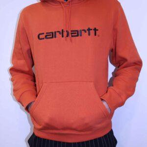 CARHARTT WIP – Hooded Sweat Orange