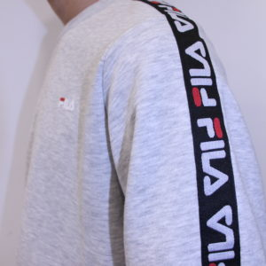 Fila – Sweat-shirt Aren Crew Gris