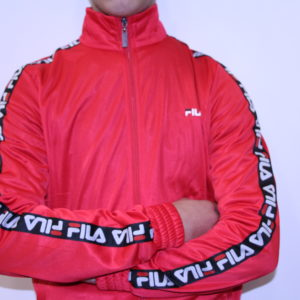 FILA – Veste Tape Track Red