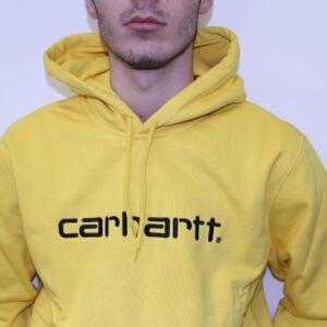 CARHARTT WIP – Hooded Sweat Jaune