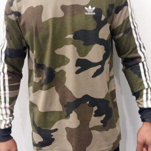 ADIDAS – Tee-shirt  Camouflage