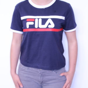 FILA – Tee-shirt Femme Ashley Marine