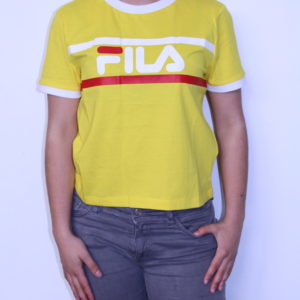 FILA – Tee-shirt Femme Ashley Jaune