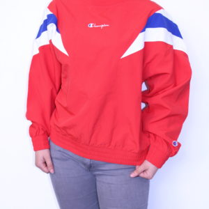 CHAMPION – Sweatshirt vintage rayures Tricolore
