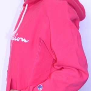 CHAMPION – Sweat Shirt à Capuche Fushia