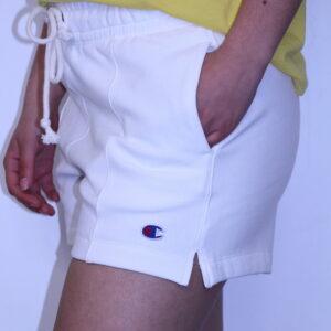 CHAMPION – Short Coton Femme White