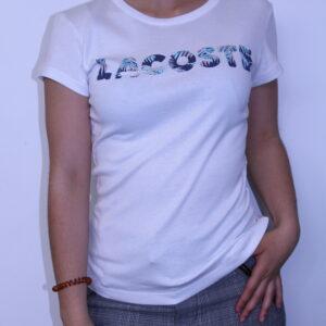 LACOSTE Tee-shirt imprimé Palmier