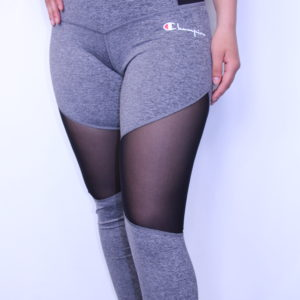 CHAMPION – Leggings Femme Mesh Grey
