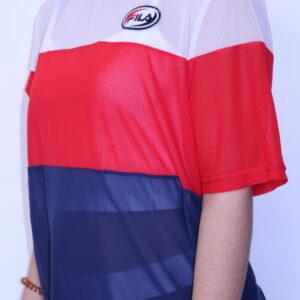 FILA – Tee-shirt Reina Femme Tricolore