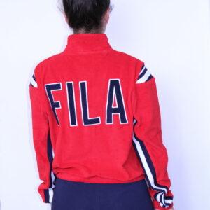 FILA – Veste Sabina Femme Rouge