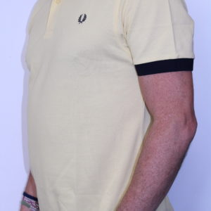 FRED PERRY – Polo Colour Block Jaune