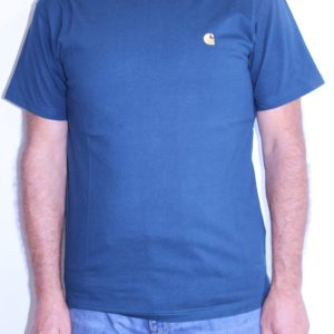 CARHARTT WIP  Chase T shirt Duck blue