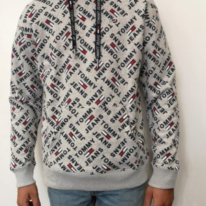TOMMY HILFIGER Sweat Allover Grey