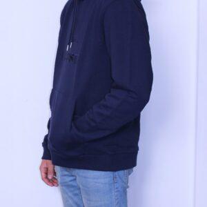 LACOSTE Sweatshirt à capuche brodé Bleu