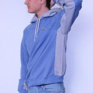 LACOSTE Sweatshirt à capuche Bi Matière Bleu