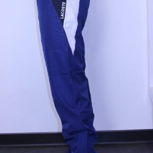 LACOSTE Pant survêtement Color Block Royal