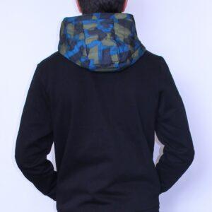 LACOSTE Sweatshirt Zippé Camo