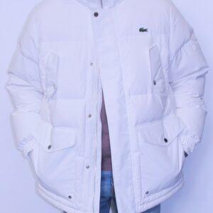 LACOSTE Doudoune à capuche Blanc