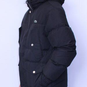 LACOSTE Doudoune à capuche Noir