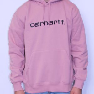 CARHARTT WIP – Hooded Sweat Blush