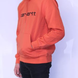 CARHARTT WIP Hooded Sweat Brick Orange