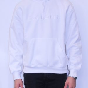 CARHARTT WIP Hooded Sweat White
