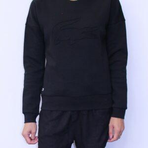 LACOSTE Sweat Sport Croco 3D Noir